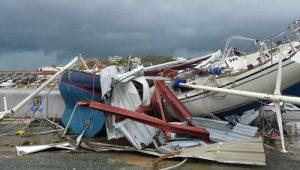 """Quần đảo Virgin """"biến dạng"""" kinh hoàng dưới sức tàn phá của siêu bão Irma"""